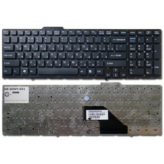 Клавиатура для ноутбука SONY VAIO VPC-F11 VPC-F12 VPC-F13 BLACK RU
