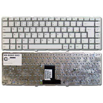 Клавиатура для ноутбука SONY VAIO VPC-EA WHITE US