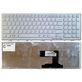 Клавиатура для ноутбука SONY VAIO VPC-EL WHITE FRAME WHITE RU