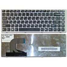 Клавиатура для ноутбука SONY VAIO VPC-S SILVER FRAME BLACK RU