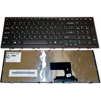 Клавиатура для ноутбука SONY VAIO VPC-EH BLACK FRAME BLACK RU