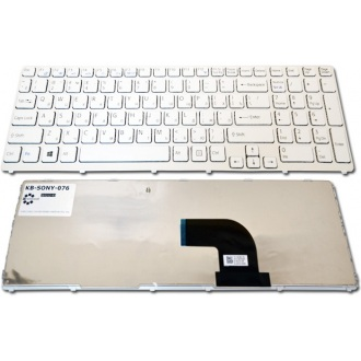 Клавиатура для ноутбука SONY VAIO SVE15 SILVER FRAME WHITE RU (Win8)