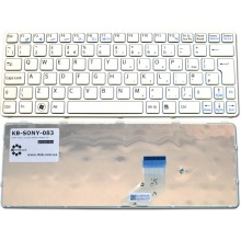 Клавиатура для ноутбука SONY VAIO SVE11 SILVER FRAME WHITE US
