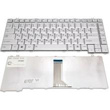 Клавиатура для ноутбука TOSHIBA Satellite A200 A205 A210 A215 A300 A305 L300 L305 L300D L305 L305D L450 L450D L455 L455D L510 L515 M200 M205 M300 M305 M333 M500 M505 M506 M507, Qosmio G40 G45 SILVER RU