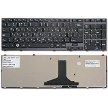 Клавиатура для ноутбука TOSHIBA Satellite A660 A660D A665 A665D BLACK FRAME GLOSSY RU