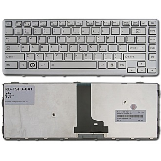 Клавиатура для ноутбука TOSHIBA Portege T230 T230D SILVER US