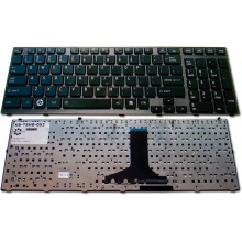 Клавиатура для ноутбука TOSHIBA Satellite P750 P750D P755 P755D P770 P770D P775 P775D BLACK FRAME GLOSSY US
