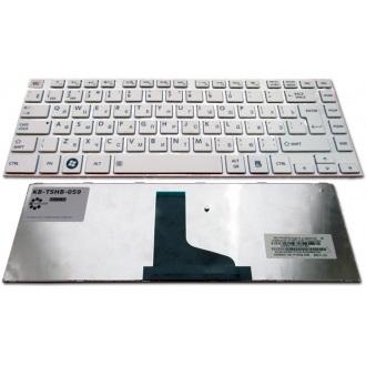 Клавиатура для ноутбука TOSHIBA Satellite C800 C800D L800 L805 L805D L830 L830D L840 L845 WHITE FRAME WHITE RU