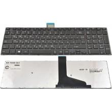 Клавиатура для ноутбука TOSHIBA Satellite S50 S50D S50T S55 S55D S55T L50 L50D L50T BLACK FRAME BLACK GLOSSY RU