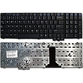 Клавиатура для ноутбука HP 8710P 8710W NW9440 NX9400 NX9420 NX9440 BLACK US
