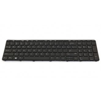 Клавиатура для ноутбука HP ProBook 450 G3 455 G3 470 G3 BLACK FRAME BLACK US BackLight