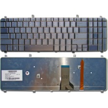 Клавиатура для ноутбука HP Pavilion HDX X16-1000 X16-1100 X16T-1000 X16T-1100 SILVER US BackLight