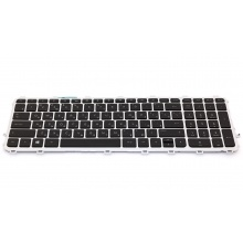 Клавиатура для ноутбука HP ENVY 15-j SILVER FRAME BLACK RU BackLight