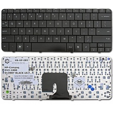Клавиатура для ноутбука HP Pavilion DV2-1000 DV2-1100 DV2-1200 DV2Z-1000 DV2Z-1100 BLACK GLOSSY US