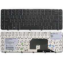 Клавиатура для ноутбука HP Pavilion DV6-3000 DV6-3100 DV6-3200 DV6-3300 DV6-4000 DV6t-3000 DV6t-3100 DV6t-3200 DV6t-4000 DV6z-3000 DV6z-3100 BLACK FRAME BLACK US