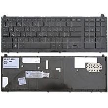 Клавиатура для ноутбука HP ProBook 4520 4520S 4525 4525S BLACK FRAME BLACK RU