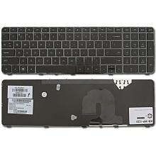 Клавиатура для ноутбука HP Pavilion DV7-4000 DV7-4100 DV7-4200 DV7-4300 DV7-5000 DV7t-5000 BLACK FRAME BLACK US