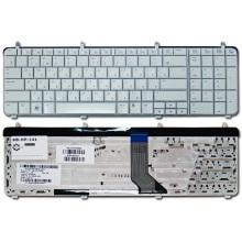 Клавиатура для ноутбука HP Pavilion DV7-2000 DV7-2100 DV7-2200 DV7-3000 DV7-3100 DV7t-2000 DV7t-2100 DV7t-2200 DV7t-3000 DV7t-3100 DV7t-3300 WHITE RU