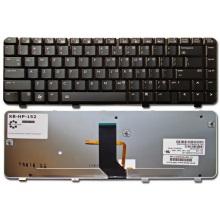 Клавиатура для ноутбука HP Pavilion DV3-2000 DV3-2100 DV3-2300 DV3t-2000 DV3z-1000 BLACK GLOSSY US BackLight