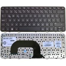 Клавиатура для ноутбука HP 3115M, Pavilion DM1-3000 DM1-3100 DM1-3200 DM1-4000 DM1Z-3000 DM1Z-3200 DM1Z-4000 DM1Z-4100 DM1Z-4200 BLACK FRAME BLACK US