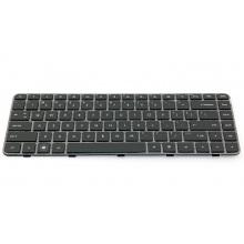 Клавиатура для ноутбука HP Pavilion DM4-1000 DM4-1100 DM4-1200 DM4-2000 DM4-2100 DM4T-1000 DM4T-1200 DM4T-1300 DM4T-1400 DM4T-1500 DM4T-1600 DM4T-2000 DM4T-2100 DV5-2000 DV5-2100 DV5-2200 DV5T-2000 DV5T-2100 DV5T-2200 BLACK FRAME BLACK US BackLight