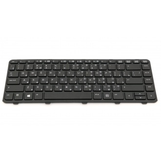 Клавиатура для ноутбука HP ProBook 430 G2 440 G0 445 G0 440 G1 445 G1 440 G2 445 G2 640 G1 645 G1 BLACK FRAME BLACK RU