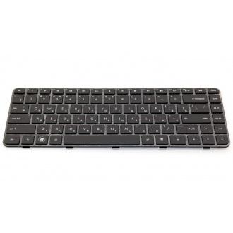 Клавиатура для ноутбука HP Pavilion DM4-1000 DM4-1100 DM4-1200 DM4-2000 DM4-2100 DM4T-1000 DM4T-1200 DM4T-1300 DM4T-1400 DM4T-1500 DM4T-1600 DM4T-2000 DM4T-2100 DV5-2000 DV5-2100 DV5-2200 DV5T-2000 DV5T-2100 DV5T-2200 BLACK FRAME BLACK RU BackLight