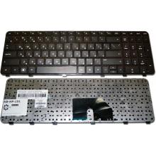 Клавиатура для ноутбука HP Pavilion DV6-6000 DV6-6100 DV6-6B00 DV6-6C00 DV6t-6000 DV6t-6100 DV6t-6B00 DV6t-6C00 DV6z-6100 DV6z-6B00 DV6z-6C00 BLACK FRAME BLACK RU