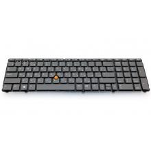 Клавиатура для ноутбука HP EliteBook 8760P 8760W GRAY RU (с поинтстиком)