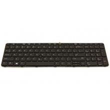 Клавиатура для ноутбука HP ProBook 650 G2 655 G2 450 G3 455 G3 470 G3 450 G4 455 G4 470 G4 BLACK FRAME BLACK US BackLight (с поинтстиком)