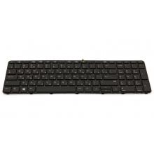 Клавиатура для ноутбука HP ProBook 450 G3 455 G3 470 G3 BLACK FRAME BLACK RU BackLight