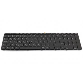 Клавиатура для ноутбука HP ProBook 650 G2 655 G2 450 G3 455 G3 470 G3 450 G4 455 G4 470 G4 BLACK FRAME BLACK RU BackLight (с поинтстиком)