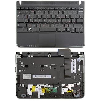 Клавиатура для ноутбука SAMSUNG N210 N220 BLACK RU (с крышкой, тачпадом, динамиком)
