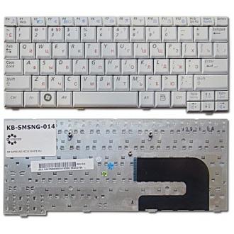Клавиатура для ноутбука SAMSUNG N108 N110 N127 N130 N135 N138 N140 NC10 NС20 ND10 WHITE RU
