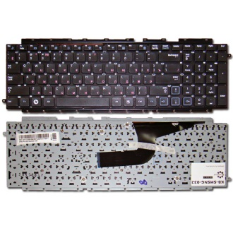 Клавиатура для ноутбука SAMSUNG RC710 RC711 BLACK RU