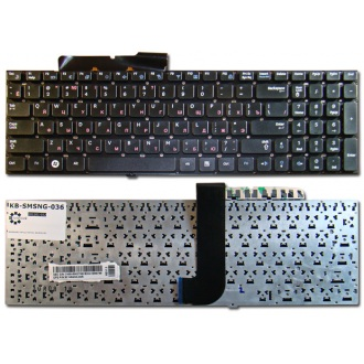 Клавиатура для ноутбука SAMSUNG RC530 RF510 RF511 SF510 SF511 QX530 BLACK RU