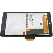 Сенсорный экран (тачскрин) с рамкой для ASUS Google Nexus 7 ME370T + матрица CLAA070WP03, цвет черный