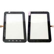 Сенсорный экран (тачскрин) с рамкой для Samsung Galaxy Tab P1000, цвет черный