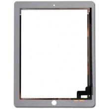 Сенсорный экран (тачскрин) с рамкой для iPAD 2, цвет белый, Оригинальный