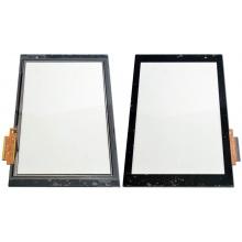 Сенсорный экран (тачскрин) с рамкой для Acer Iconia Tab A500, цвет черный