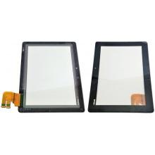 Сенсорный экран (тачскрин) с рамкой для ASUS Eee Pad Transformer Pad TF300 V.G03, цвет черный