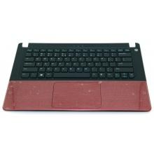 Верхняя крышка корпуса Dell Vostro 5460 5470 5480 с тачпадом красный
