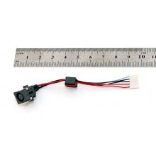 Разъем питания для ноутбука DELL Inspiron 5520 5525 7520 Vostro3560 с кабелем 5-pin