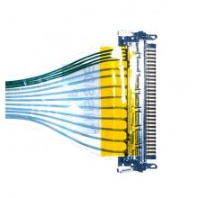 "Шлейф матрицы для ноутбука DELL Inspiron 500M 600M 9100, Latitude D500 D600 30pin CCFL (для 14.1"")"