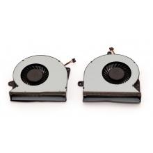 Вентилятор для ноутбука ASUS G751 G751J G751M G751JT G751JY G751JL 5V 0.5A 4pin (левый+правый)