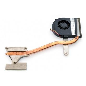 Вентилятор для ноутбука DELL Inspiron 15R N5010 5V 0.5A 3pin (интегр. видео, с теплоотводом)