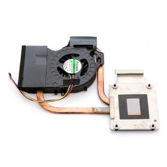 Вентилятор для ноутбука HP Pavilion DV6-6000 DV6-6100 DV6-6B00 DV6-6C00 DV7-6000 DV7-6100 DV7-6200 DV7-6B00 DV7-6C00 5V 0.4A 4pin (интегр. видео AMD, с теплоотводом)