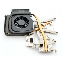Вентилятор для ноутбука HP Pavilion DV6-1000 DV6-1100 DV6-1200 DV6T-1000 DV6T-1100 DV6T-1200 DV6Z-1000 DV6Z-1100 DV6Z-1200 5V 0.4A 3pin (с теплоотводом)