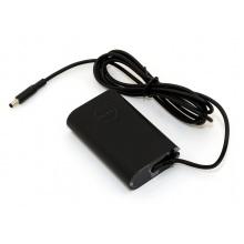 Блок питания для ноутбука DELL 19.5V 2.31A разъем 4.5/3.0mm с центр. пином овальный корпус (оригинальный)