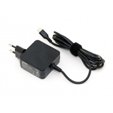 Блок питания для ноутбука LENOVO 20V 2.25A разъем USB Type-C квадратный корпус (оригинальный)